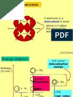 benzene delocalisation stability