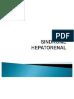 SINDROME HEPATORENAL