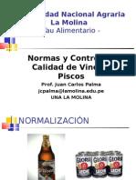 Normas de Vinos y Piscos
