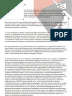 Análisis y Proyecciones del Movimiento Estudiantil y las movilizaciones de este año