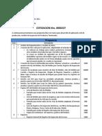 Cotizacion 227 VenVidrio Inspeccion Producto Terminado