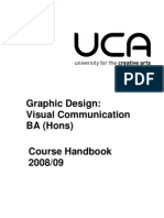 BA (Hons) Graphic Design_ Visual Communication 2008-09