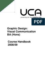 BA (Hons) Graphic Design_ Visual Communication 2008-09