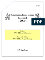 Correspondence Chess Yearbook 2000