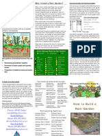 Arkansas Rain Garden Brochure