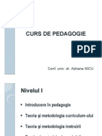 Pedagogie 1 Curs 2 Educatia in Societatea