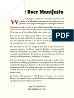 Kick It Over Manifesto