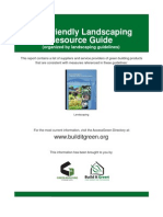 California; Bay Friendly Landscaping Resource Guide