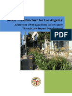 California; Los Angeles Green Infrastructure - Addressing Urban Runoff and Water Supply