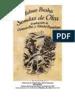 Sendas de Oku. Octavio Paz