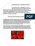 History & Facts of Poinsettia Plants, Euphorbia Pulcherrima