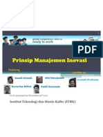 Itbk mm 2011- Innovation Management - principles of innovation management-Noverino Rifai and Team