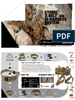 CTOMS X-Belt / M-Harness Brochure