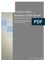 Práctica sobre Windows 2003 Server FINAL