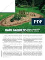 Arkansas; Rain Gardens Trend Taking Hold in Northwest Arkansas