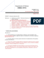 DODD 3600.01 Information Operations (IO)