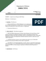 DODD 5205.07 Special Access Program (SAP) Policy