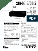 Sony Str d615