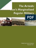 The Artesh Iran 's Marginalized Regular Military