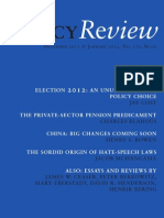 Policy Review - December 2011 & January 2012, No. 170