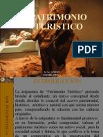 SESION Nº 01 MARCO CONCEPTUAL DEL PATRIMONIO TURISTICO