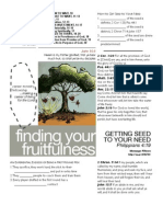 Fruitfulness 15 - Phil 4_19 Handout 112711