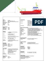 30mt Multi Purpose Vessel Spec