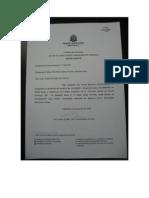 Modelo de Carta-Convite