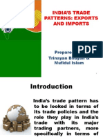 IMPORT EXPORT :INDIA'S TRADE PATTERNS IB
