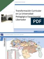 Transformacion Curricular UPEL