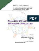 Informe Analisis de Nuevas Tendencias Curriculares