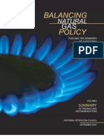 Balancing Natural Gas Policy Vol-1 Summary (NPC, 2003)