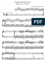 BfmV - Tears Dont Fall Piano