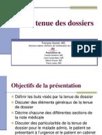 Tenue Dossier Externes Sept 2010