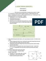 Soal Fisika Dasar TPB ITB