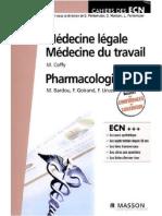 Médecine légale - pharmacologie