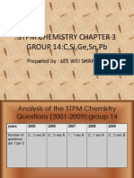 Stpm Chemistry Chapter 3