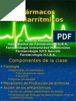 [Cardio] Farmacos Antiarritmicos - 2007