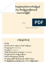 Revenue and Tax Policy in Myanmar Aung Moe Bur