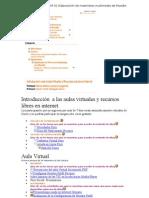 Modulo Nº 02 Elaboración de materiales multimedia de Moodle