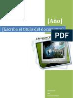 Estructura y Politicas de Los Cursos Virtuales Espe