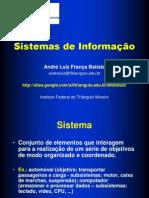 [apresentação] Fundamentos de Sistemas de Informação