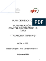 Plan de Marketing Tara en Polov