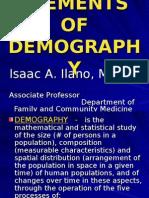 Elements of Demography-prof Ilano Copy 3rd Yr 07-08