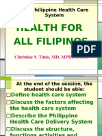 Philippine Health Care System 2008