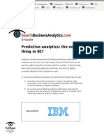 predictive analytics e guide