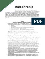 5 Schizophrenia