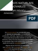 Recursos No Renovables en Mexico