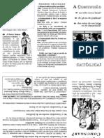 Panfleto Comunhao Na Mao