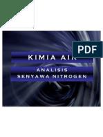 Analisis Senyawa Nitrogen